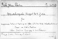 Sechs Brandenburgische Konzerte                         (No. 4)