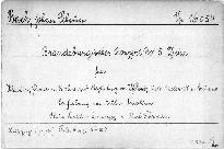 Sechs Brandenburgische Konzerte                         (No. 5)