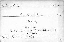 Symphonie 3. Es dur, Op. 55
