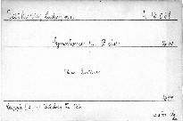 Symphonie 4. B dur, Op. 60