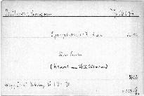Symphonie 7. A dur, Op. 92