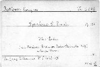 Symphonie IX, D moll, Op. 125