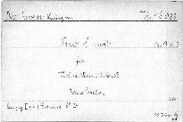 Trio c moll für Violine, Viola und Violoncell, Op. 9, No. 3