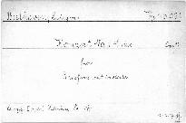 Konzert No. 1, C dur für Pianoforte mit Orchester, Op. 15