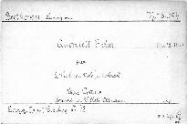 Quartett F dur für 2 Violinen, Viola und Violoncell, Op. 18, No. 1
