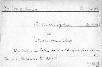 Quartett G dur für 2 Violinen, Viola und Violoncell, Op. 18, No. 2