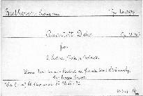 Quartett D dur für 2 Violinen, Viola und Violoncell, Op. 18, No. 3