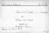 Quartett c moll für 2 Violinen, Viola und Violoncell, Op. 18, No. 4