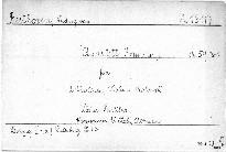 Quartett F dur No. 7 für 2 Violinen, Viola und Violoncell, Op. 59, No. 1