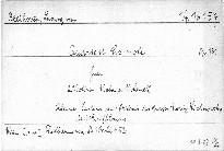 Quartett Cis moll für 2 Violinen, Viola und Violoncell, Op. 131