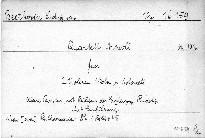 Quartett A moll für 2 Violinen, Viola und Violoncell, Op. 132