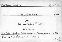 Quartett F dur für 2 Violinen, Viola und Violoncell, Op. 135