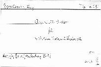 Quintett E dur für 2 Violinen, Viola und 2 Violoncelli