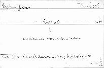 Rhapsodie Op. 53 für eine Altstimme, Männerchor u.