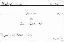 Trio C dur Op. 87 für Klavier, Violine u. Cello