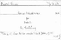 Rondo Arleccinesco op. 46 für Orchester mit Einfüh