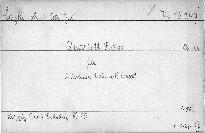 Quartet F dur für 2 Violinen, Viola und Violoncell, Op. 22