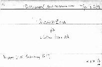 1. Quartett D dur für 2 Violinen, Viola und Cello