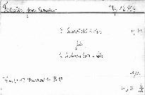 III. Quartett C dur
