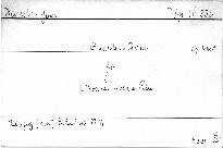 Quartett No. 1 B-dur für 2 Violinen, Viola und Violoncell
