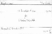 18. Quartett A dur für 2 Violinen, Viola und Cello