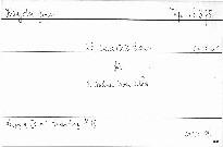 25. Quartett E dur