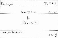 71.Quartett Es dur für 2 Violinen,Viola und Violon