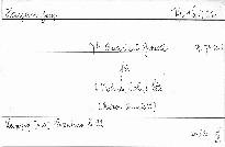 74.Quartett g mol für 2 Violinen,Viola und Cello,