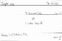 78.Quartett B dur für 2 Violinen, Viola und Violon