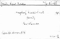 Smyčcový kvartet c moll,op.9