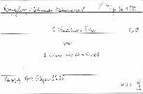 2. Quatuor F dur Op. 23 pour 2 violons, alto et vi