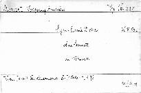 Symphonie D dur, KV 504