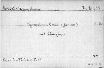 """Symphonie C dur """"Jupiter"""", KV 551"""