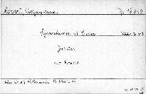 Symphonie 41 C dur, KV 551