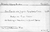 Das Finale der Jupiter Symphonie C dur, KV 551
