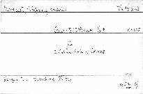 Quartett D dur No. 8 für 2 Violinen, Viola und Violoncell, KV 575