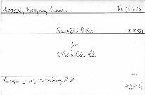 Quartett B dur für 2 Violinen, Viola und Cello, KV 589