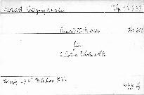 Quintett Es dur für 2 Violinen, 2 Viola und Cello, KV 614