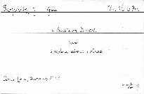 2. Quatuor d moll pour 2 violons, alto et violonce