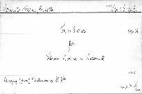 Trio F dur für Klavier,Violine und Violoncell