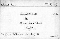 Quartett a moll für 2 Violinen, Viola und Violoncello, op. 29