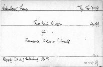 Trio No. 1 B dur für Pianoforte, Violine und Violoncell, op. 99