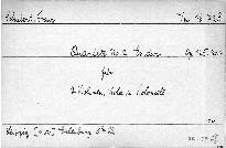 Quartett No. 2 Es dur für 2 Violinen, Viola und Violoncell, op. 125, No. 1