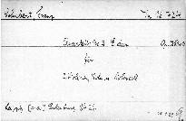 Quartett No. 3 E dur für 2 Violinen, Viola und Violoncell, op. 125 No. 2