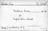 Nocturno Es dur Für Pianoforte, Violine, und Violoncell, op. 148