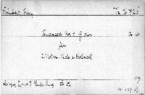 Quartett No. 4 G dur für 2 Violinen, Viola und Violoncell, op. 161