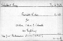 Quintett C dur für 2 Violinen, Viola und 2 Violoncello, op. 163