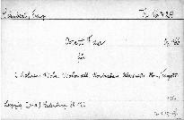 Octett F dur für 2 Violinen, Viola, Violoncell, Kontrabas, Klarinetto, Horn, Fagott, op. 166