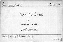 2. kvartet d moll pro 2 housle, violu
