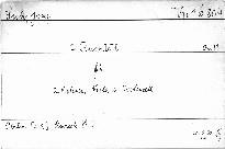 2. Quartett für 2 Violinen, Viola und Violoncell